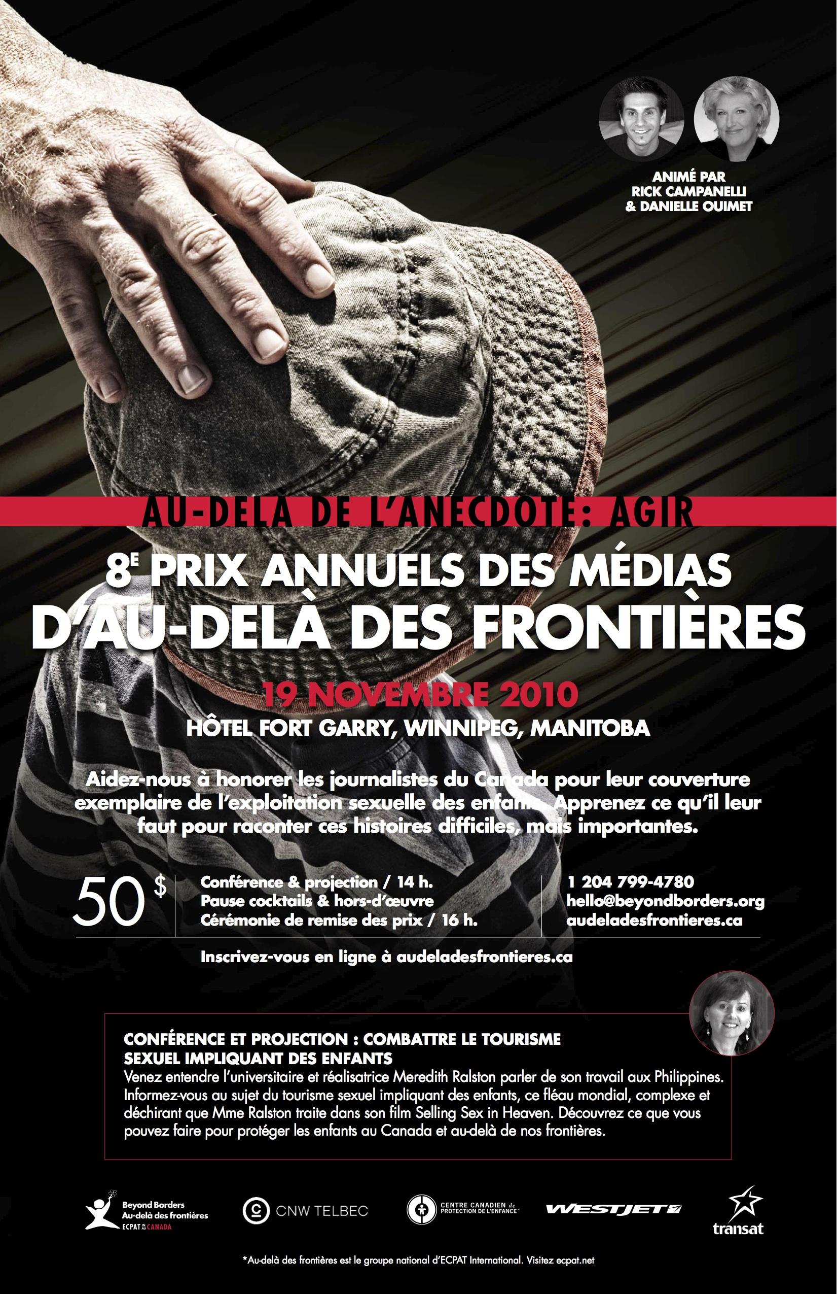 Prix des médias 2010