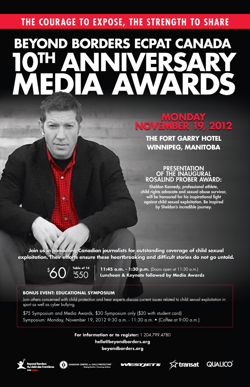 Media Awards Poster 2012