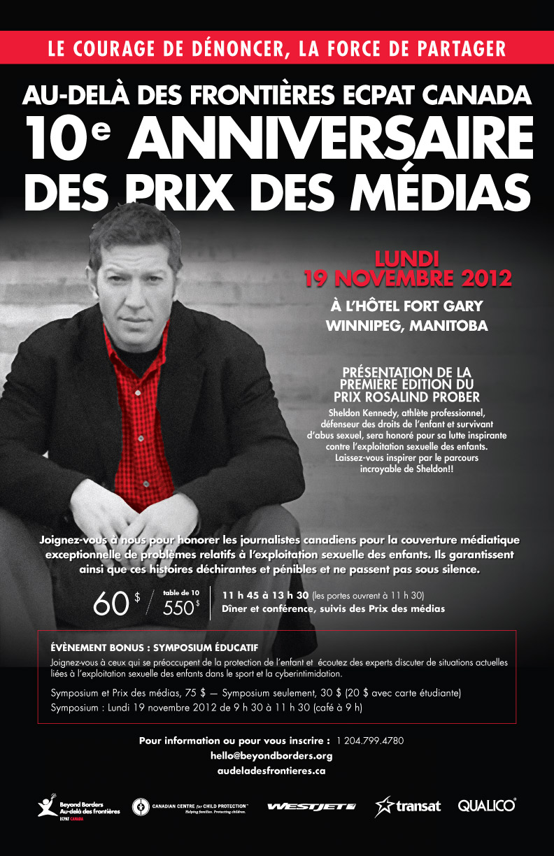Prix des médias 2012
